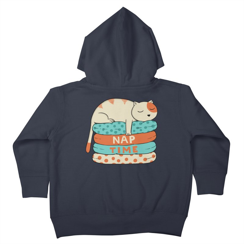 Cats Kids Toddler Zip-Up Hoody by coffeeman's Artist Shop
