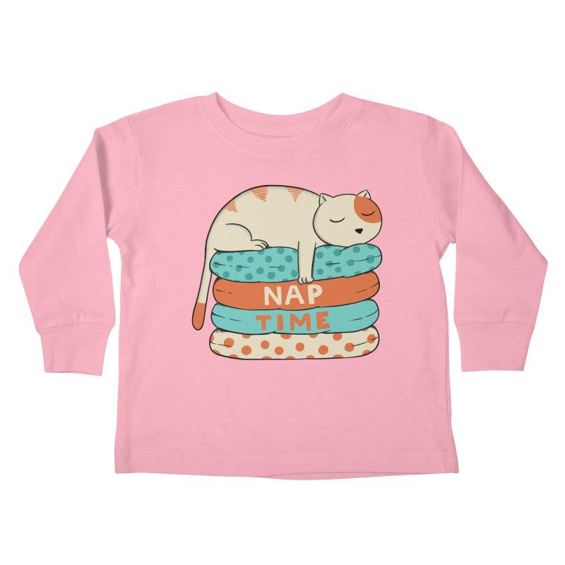 Cats Kids Toddler Longsleeve T-Shirt by coffeeman's Artist Shop