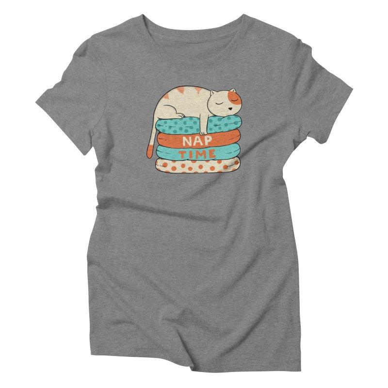 Cats Women's Triblend T-Shirt by coffeeman's Artist Shop