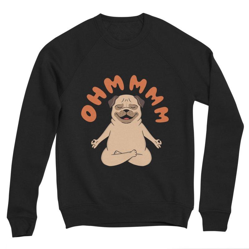 Dog Men's Sponge Fleece Sweatshirt by coffeeman's Artist Shop