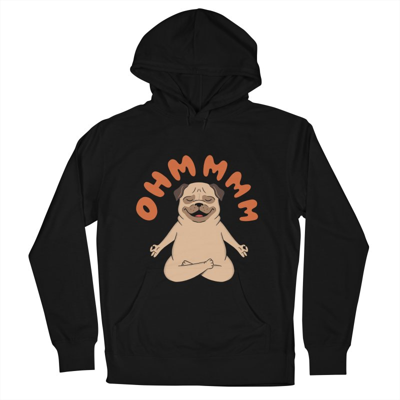 Dog Women's French Terry Pullover Hoody by coffeeman's Artist Shop