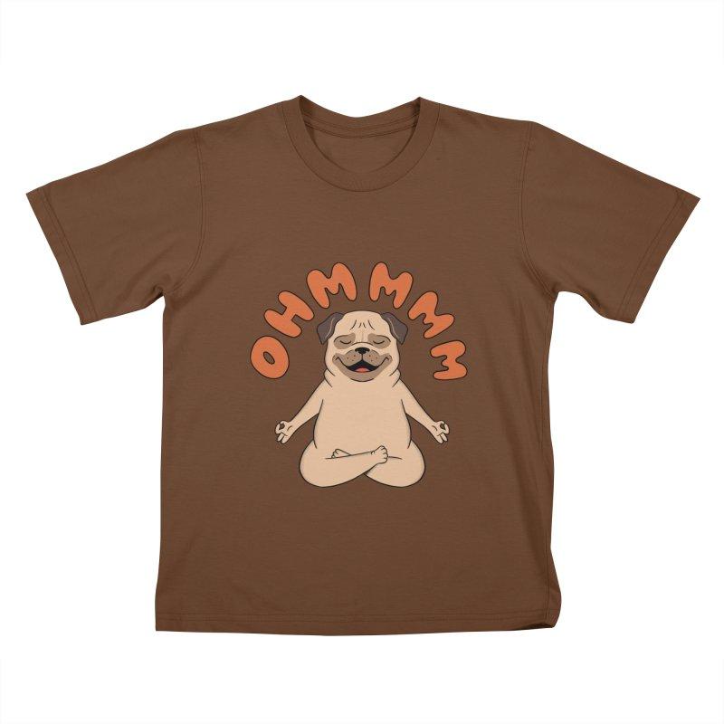 Dog Kids T-Shirt by coffeeman's Artist Shop
