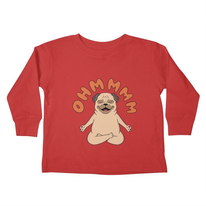 Dog Kids Toddler Longsleeve T-Shirt by coffeeman's Artist Shop
