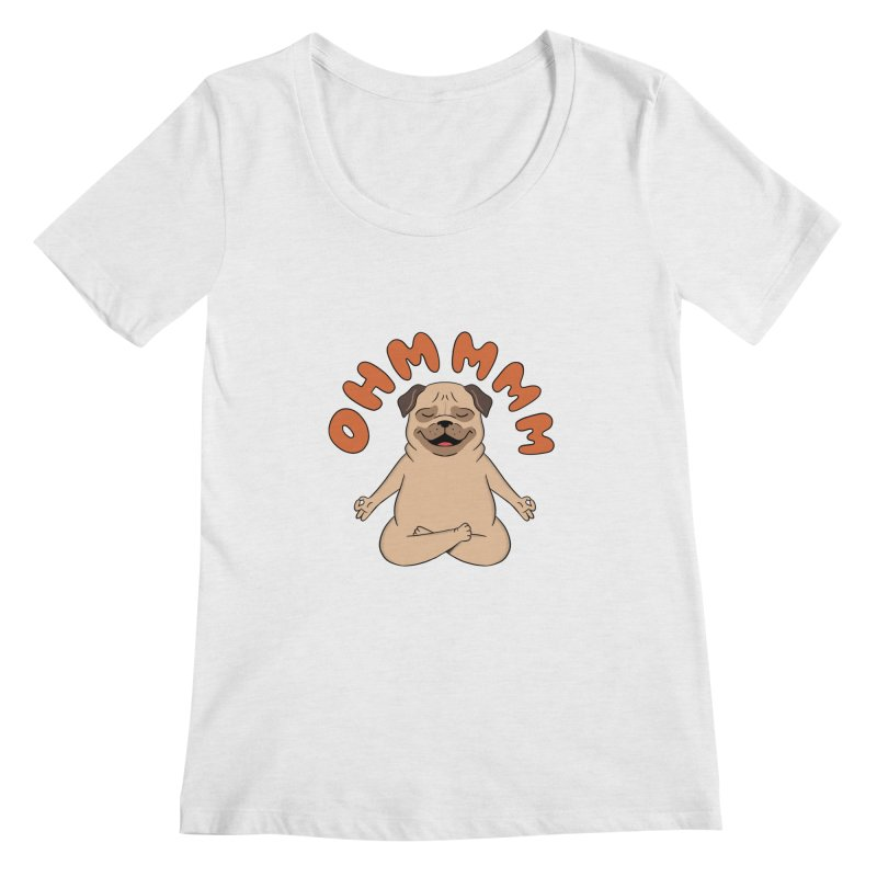 Dog Women's Regular Scoop Neck by coffeeman's Artist Shop