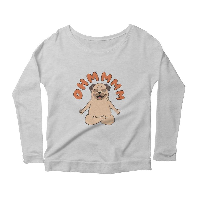 Dog Women's Scoop Neck Longsleeve T-Shirt by coffeeman's Artist Shop