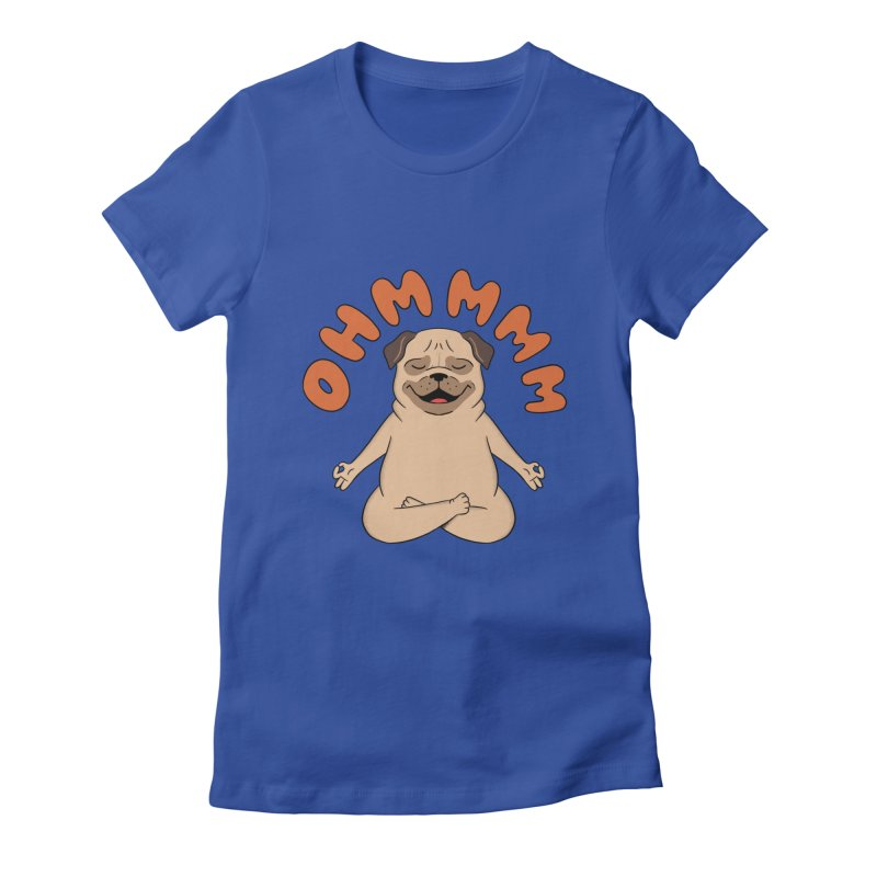 Dog Women's Fitted T-Shirt by coffeeman's Artist Shop