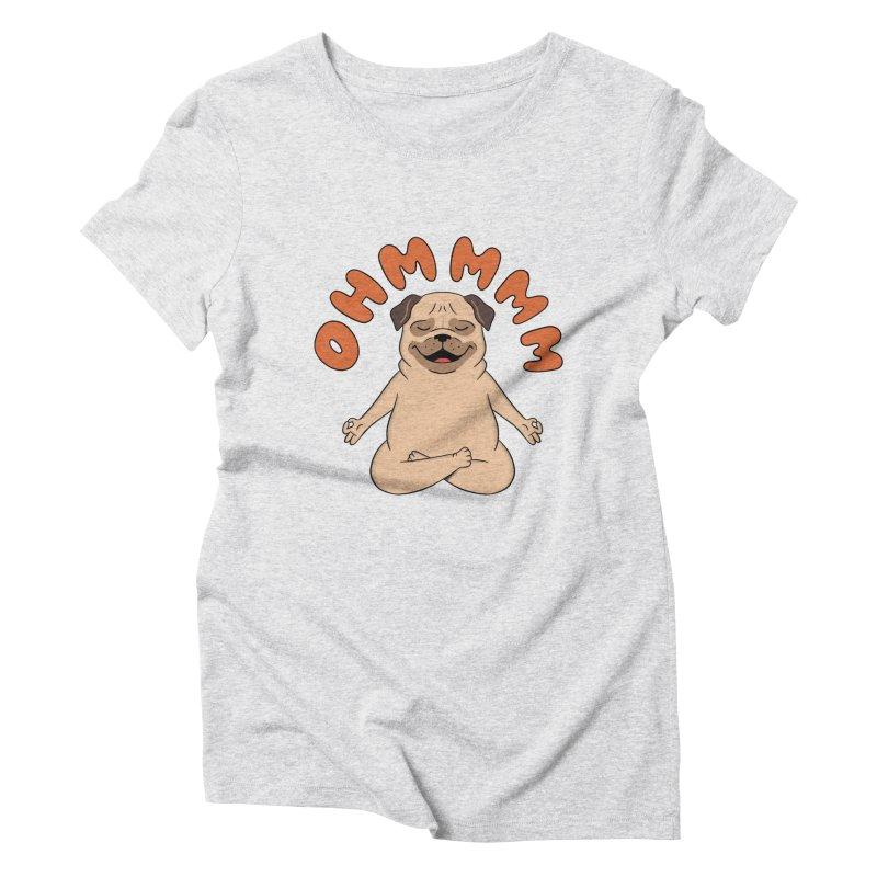Dog Women's Triblend T-Shirt by coffeeman's Artist Shop