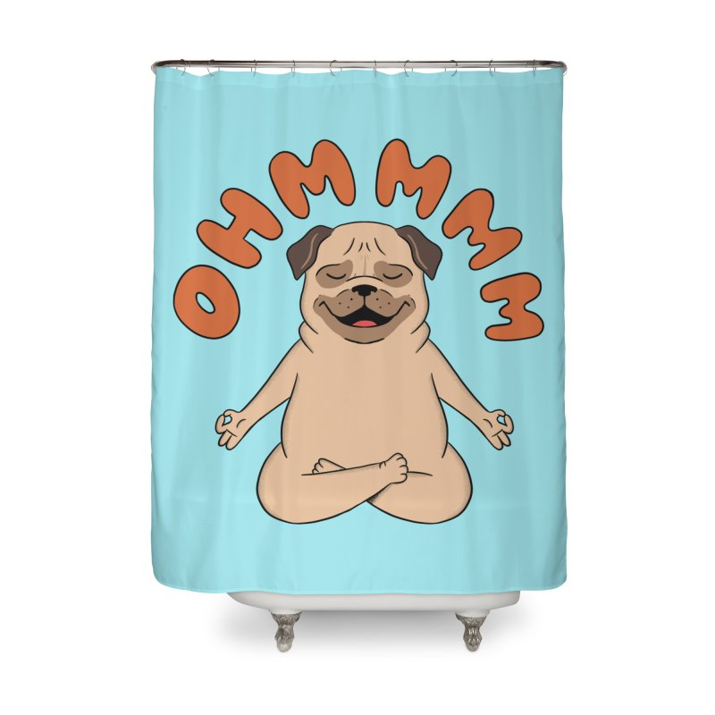 Dog Home Shower Curtain by coffeeman's Artist Shop