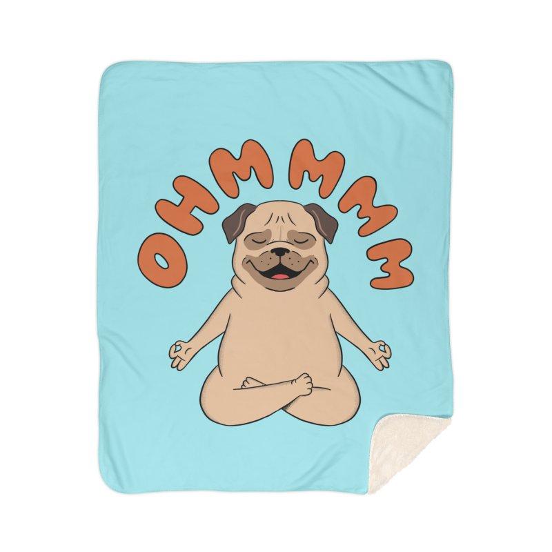 Dog Home Sherpa Blanket Blanket by coffeeman's Artist Shop