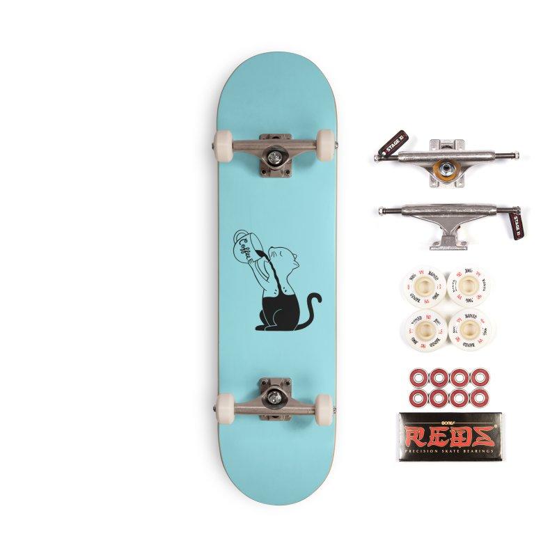Cat Accessories Complete - Pro Skateboard by coffeeman's Artist Shop