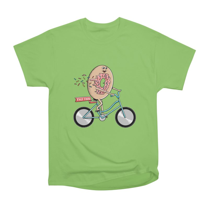 Bicycle Men's Heavyweight T-Shirt by coffeeman's Artist Shop