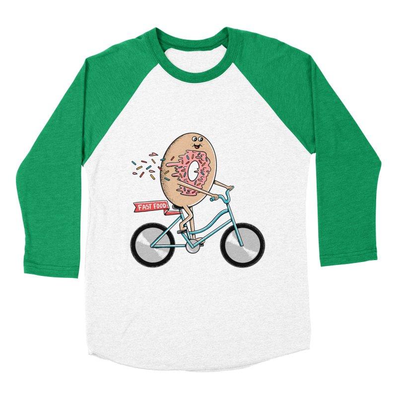Bicycle Women's Baseball Triblend Longsleeve T-Shirt by coffeeman's Artist Shop