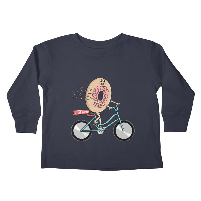 Bicycle Kids Toddler Longsleeve T-Shirt by coffeeman's Artist Shop