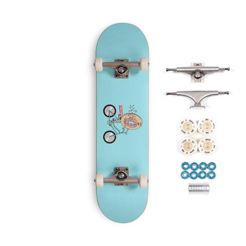 Bicycle Accessories Complete - Premium Skateboard by coffeeman's Artist Shop