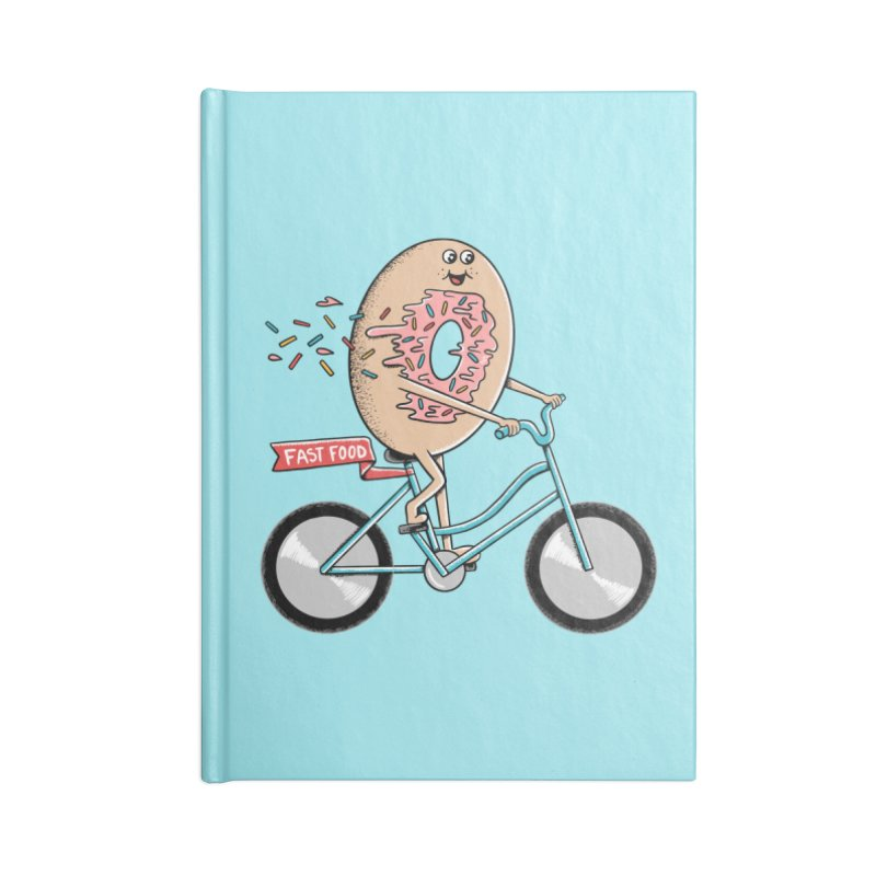 Bicycle Accessories Lined Journal Notebook by coffeeman's Artist Shop