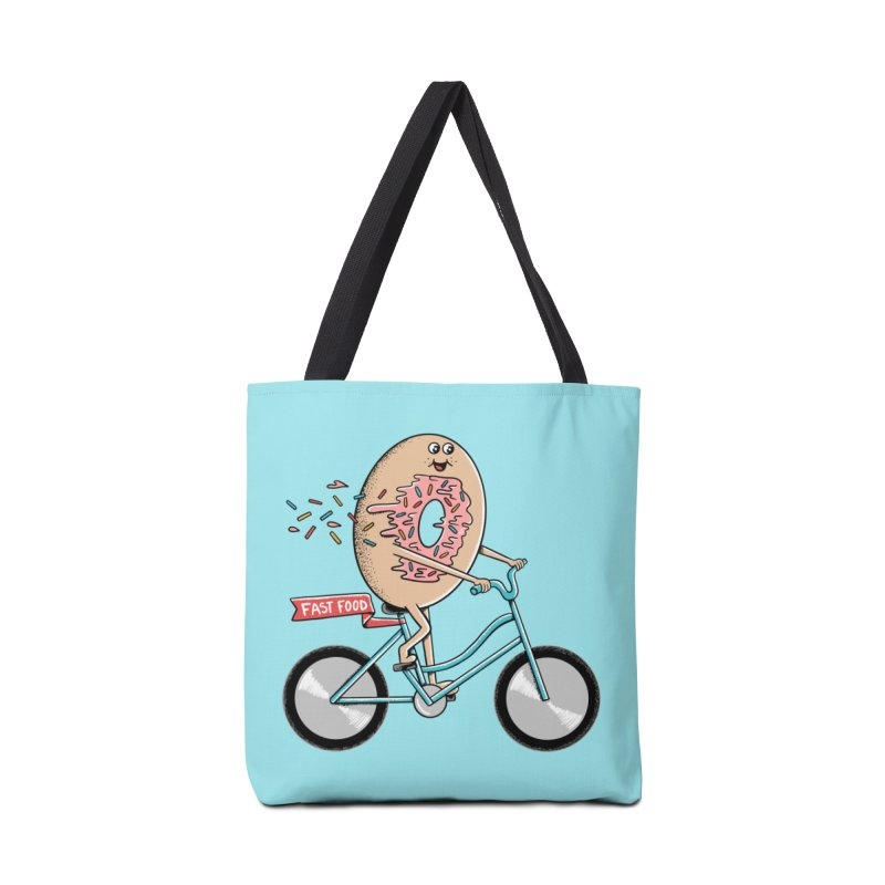 Bicycle Accessories Tote Bag Bag by coffeeman's Artist Shop