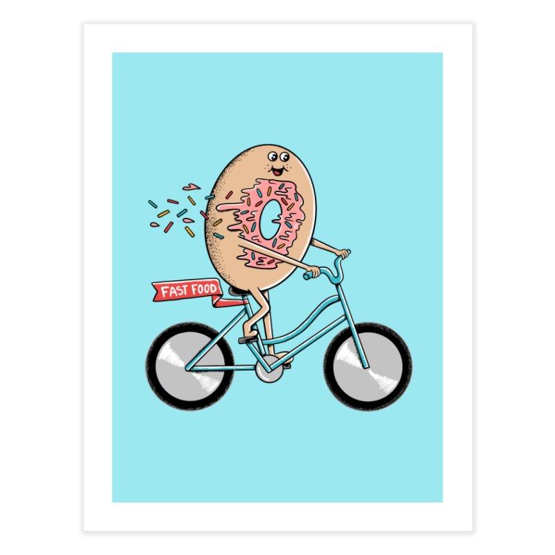 Bicycle Home Fine Art Print by coffeeman's Artist Shop