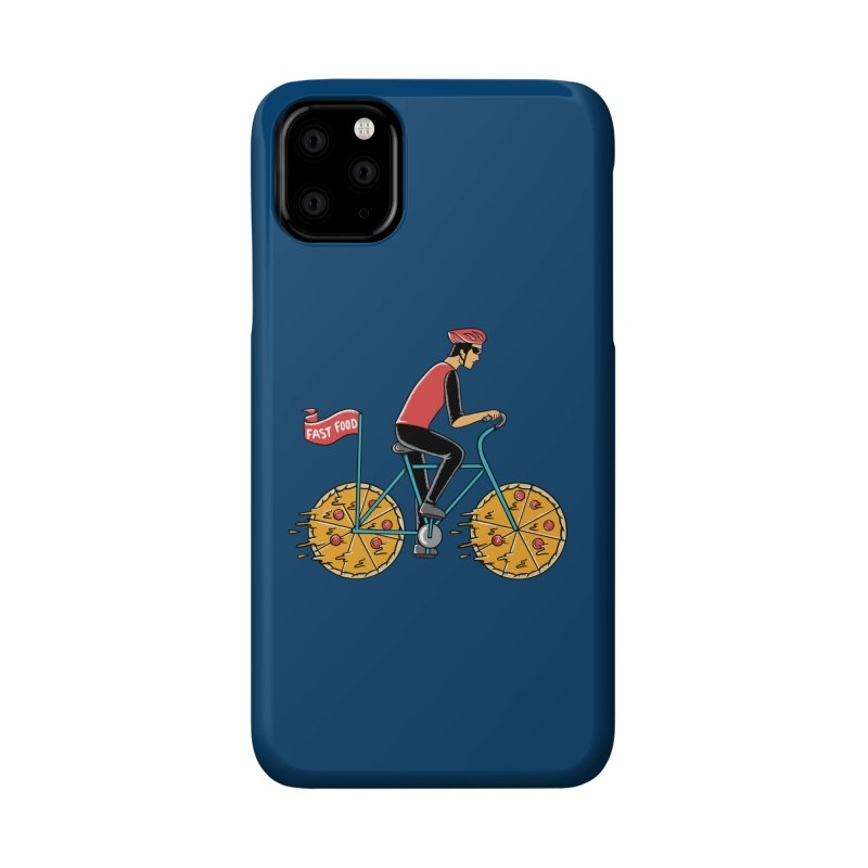 Pizza Bicycle Accessories Phone Case by coffeeman's Artist Shop