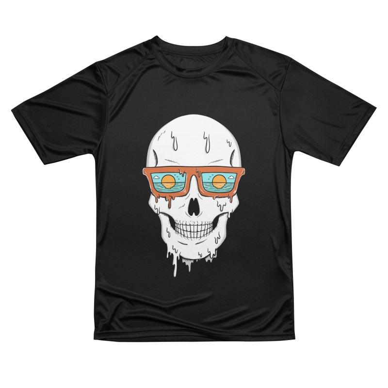 Skull Men's Performance T-Shirt by coffeeman's Artist Shop