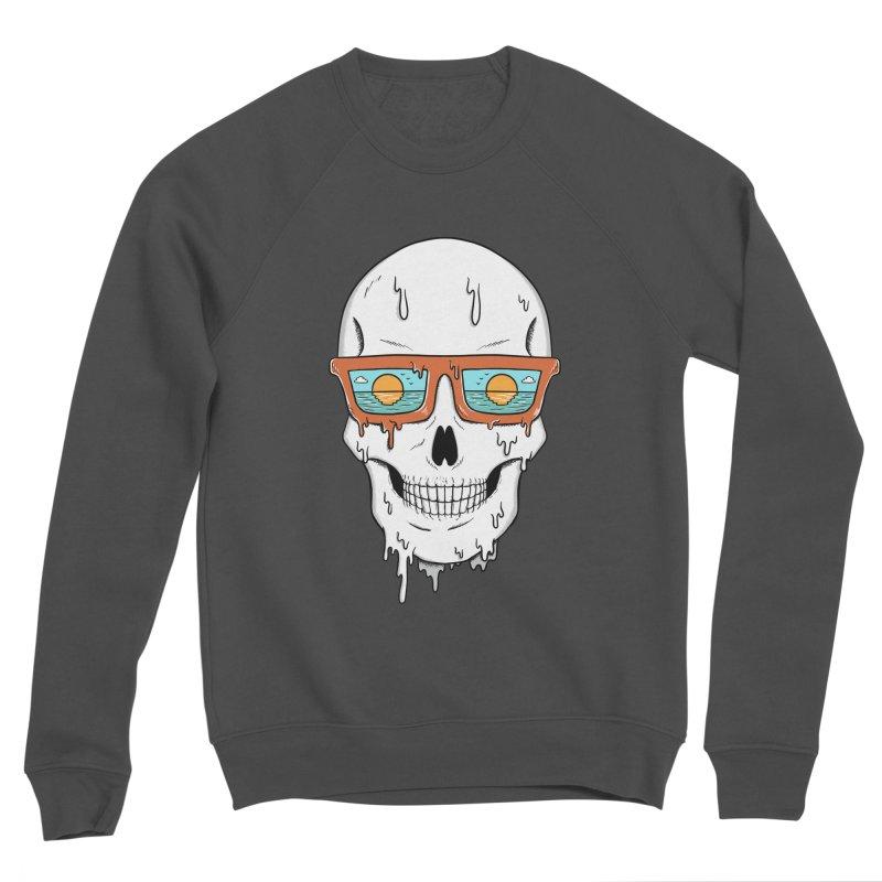 Skull Women's Sponge Fleece Sweatshirt by coffeeman's Artist Shop