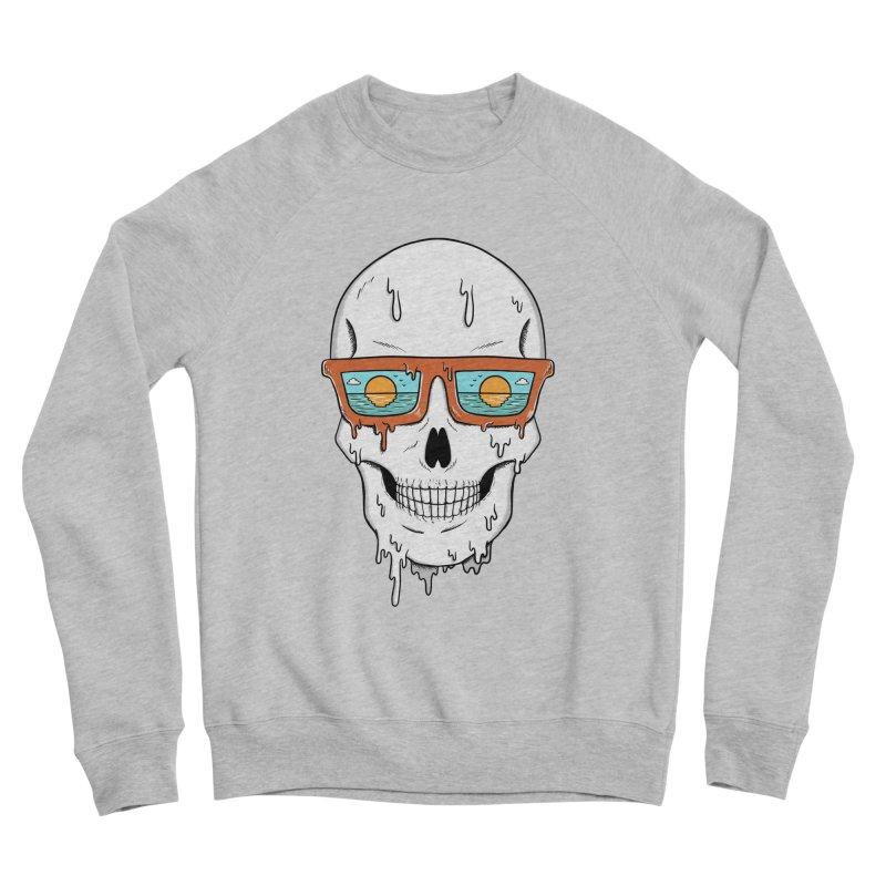 Skull Men's Sponge Fleece Sweatshirt by coffeeman's Artist Shop