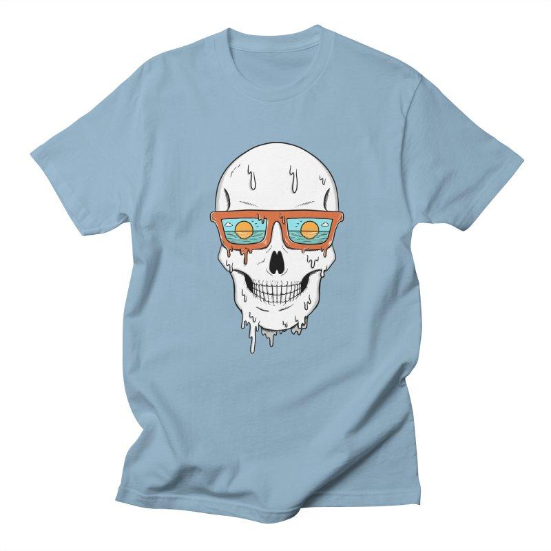 Skull Women's Regular Unisex T-Shirt by coffeeman's Artist Shop