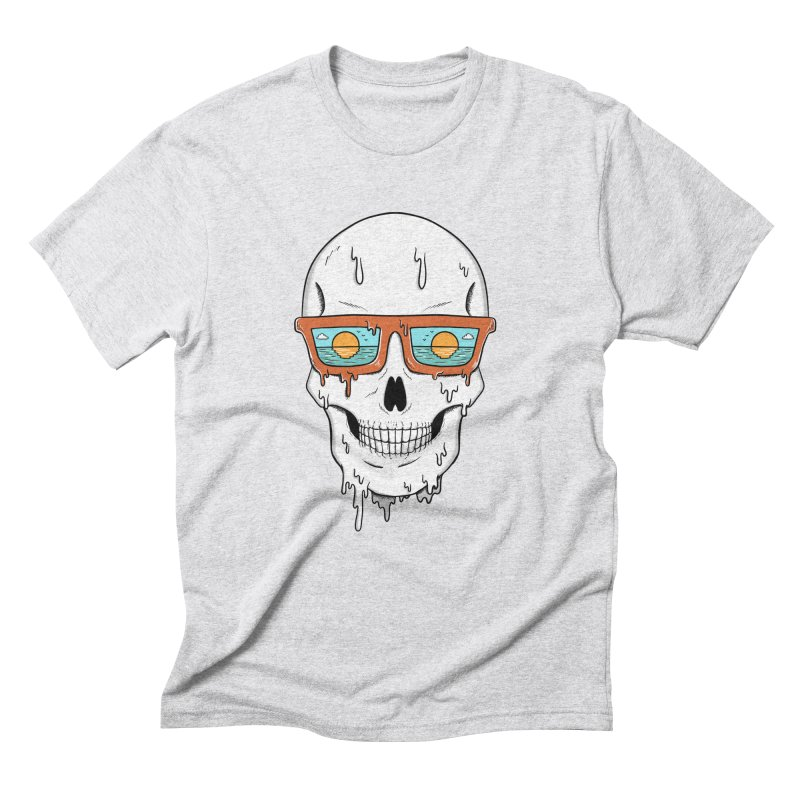 Skull Men's Triblend T-Shirt by coffeeman's Artist Shop