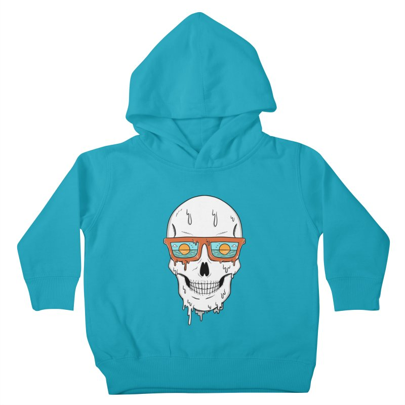 Skull Kids Toddler Pullover Hoody by coffeeman's Artist Shop