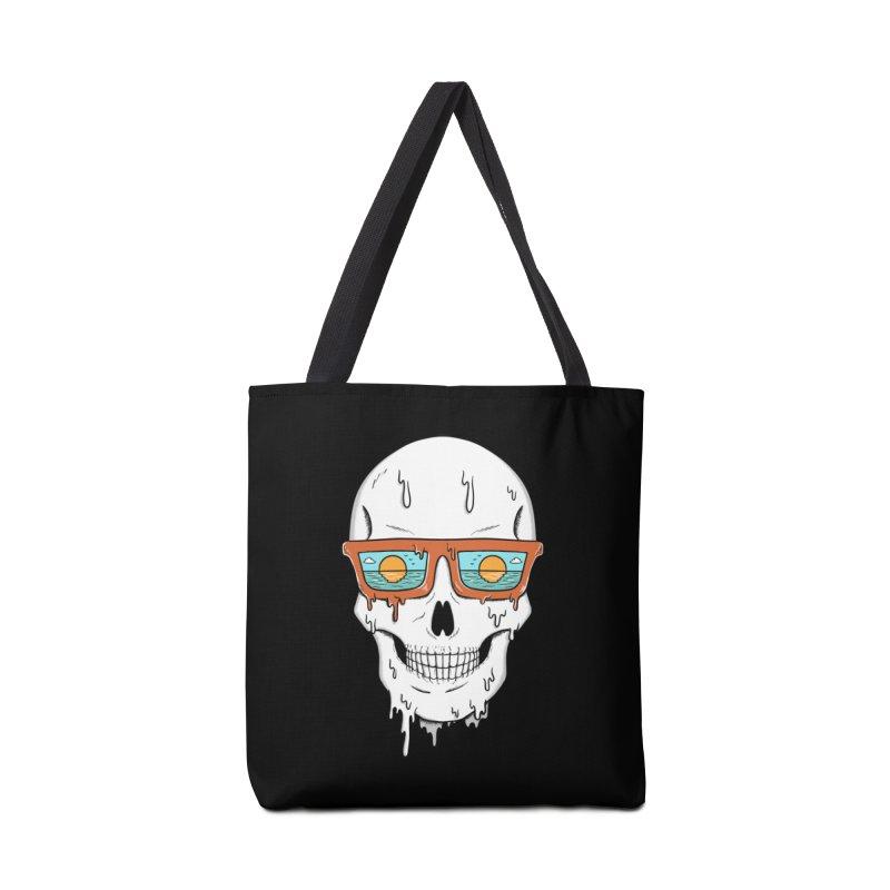 Skull Accessories Tote Bag Bag by coffeeman's Artist Shop