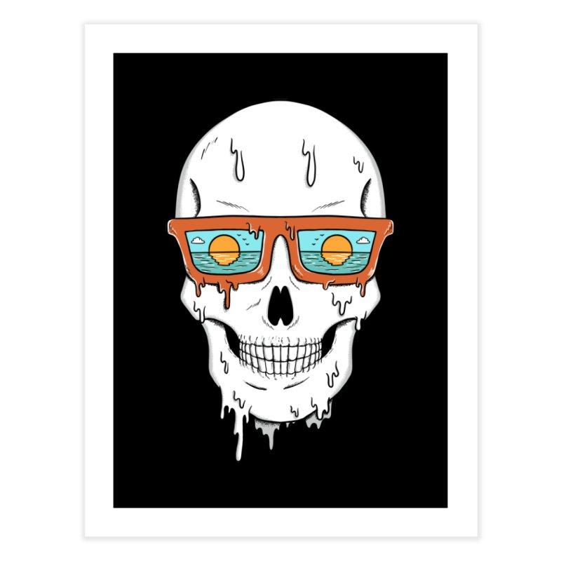 Skull Home Fine Art Print by coffeeman's Artist Shop