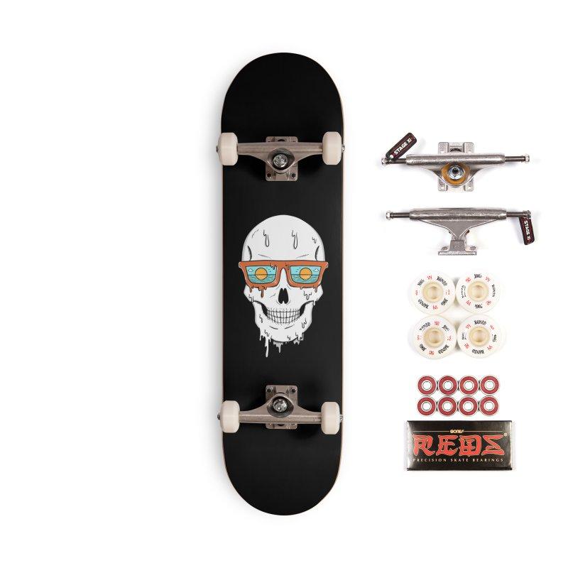 Skull Accessories Complete - Pro Skateboard by coffeeman's Artist Shop