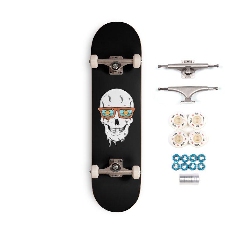 Skull Accessories Complete - Premium Skateboard by coffeeman's Artist Shop