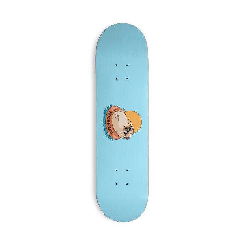 Dog Pug Accessories Skateboard by coffeeman's Artist Shop