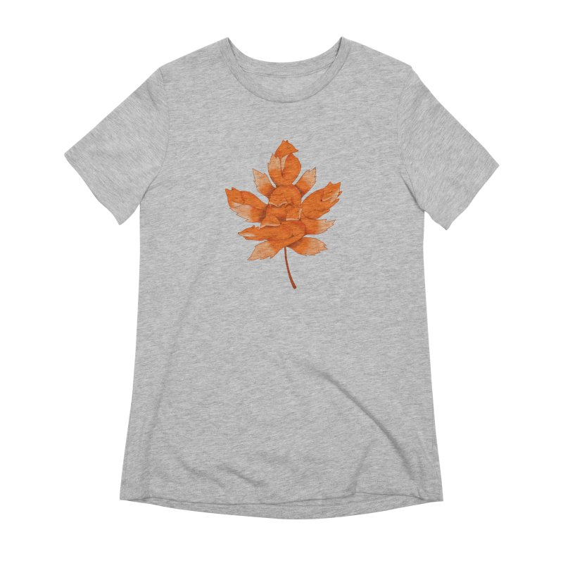 Fox Women's Extra Soft T-Shirt by coffeeman's Artist Shop