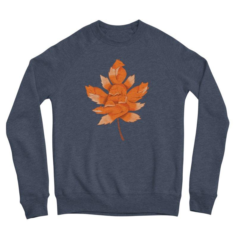 Fox Women's Sponge Fleece Sweatshirt by coffeeman's Artist Shop