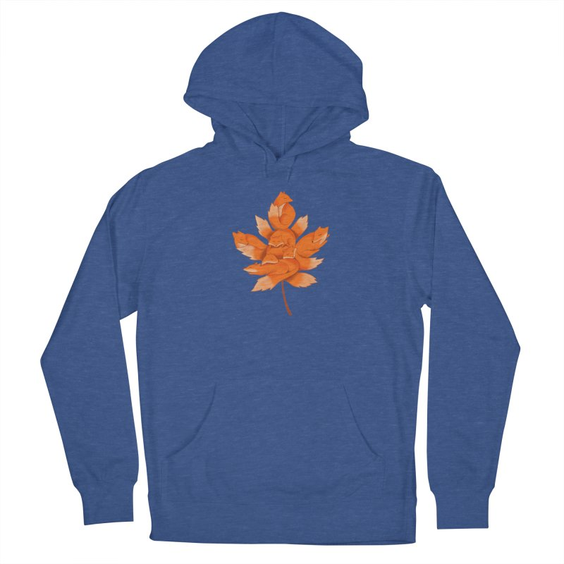 Fox Men's French Terry Pullover Hoody by coffeeman's Artist Shop