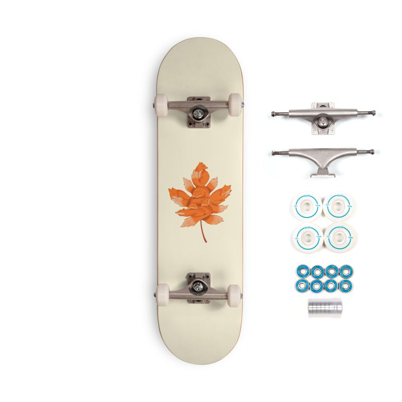 Fox Accessories Complete - Basic Skateboard by coffeeman's Artist Shop