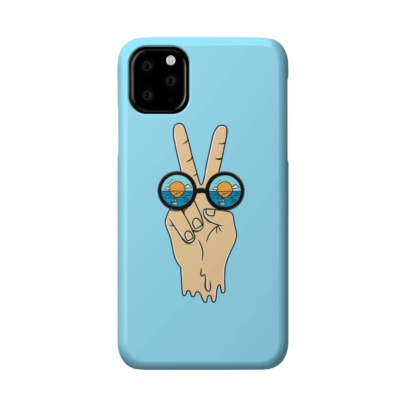 Beach peace and love Accessories Phone Case by coffeeman's Artist Shop