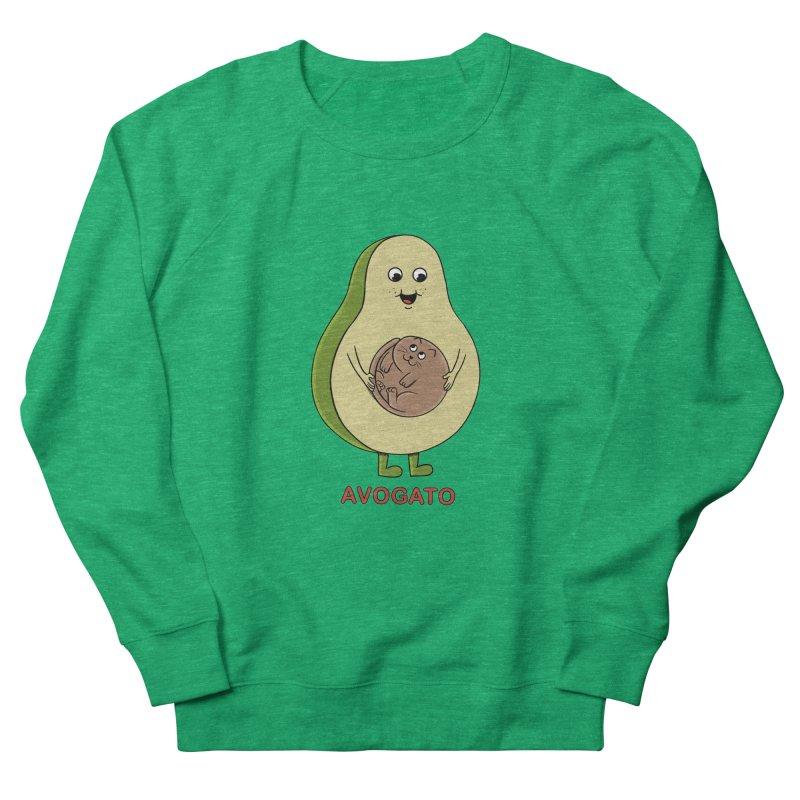 Cat Avocado Women's Sweatshirt by coffeeman's Artist Shop