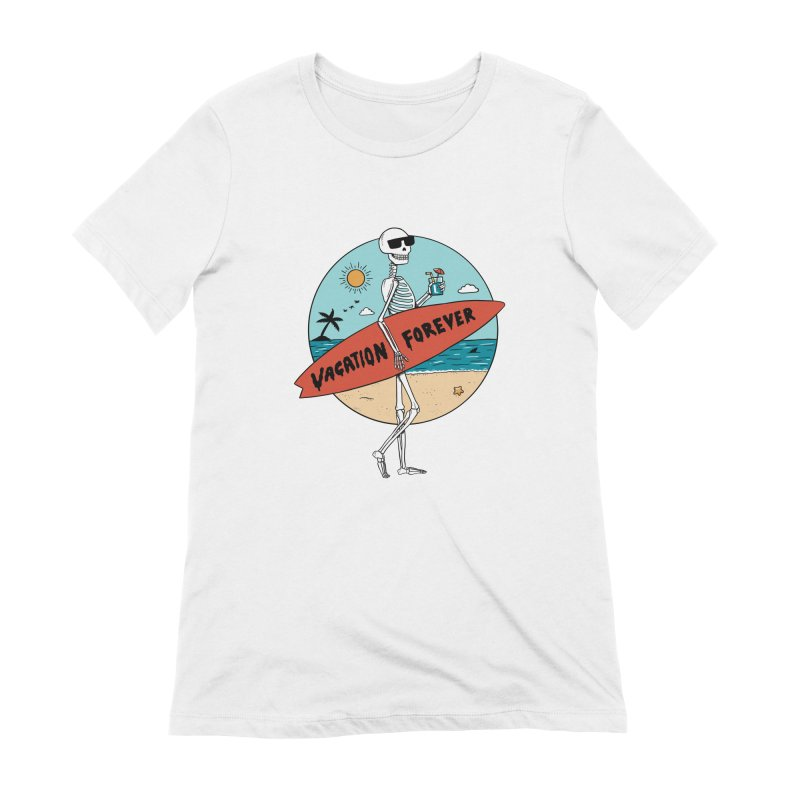 Skull Women's Extra Soft T-Shirt by coffeeman's Artist Shop