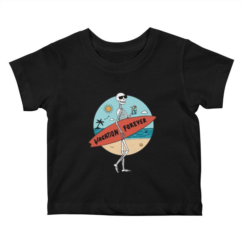 Skull Kids Baby T-Shirt by coffeeman's Artist Shop