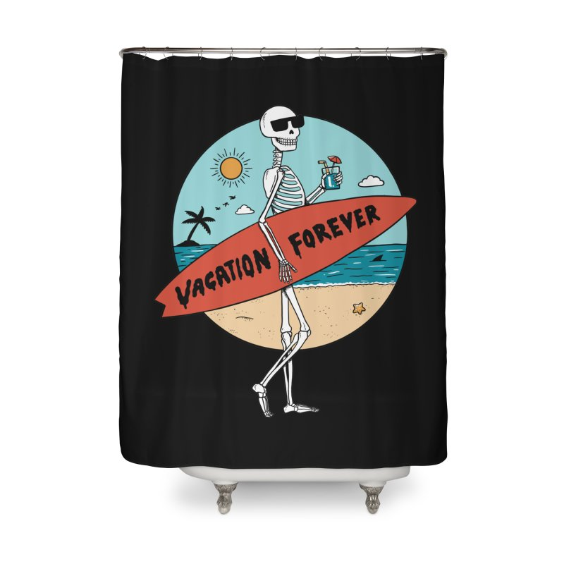 Skull Home Shower Curtain by coffeeman's Artist Shop