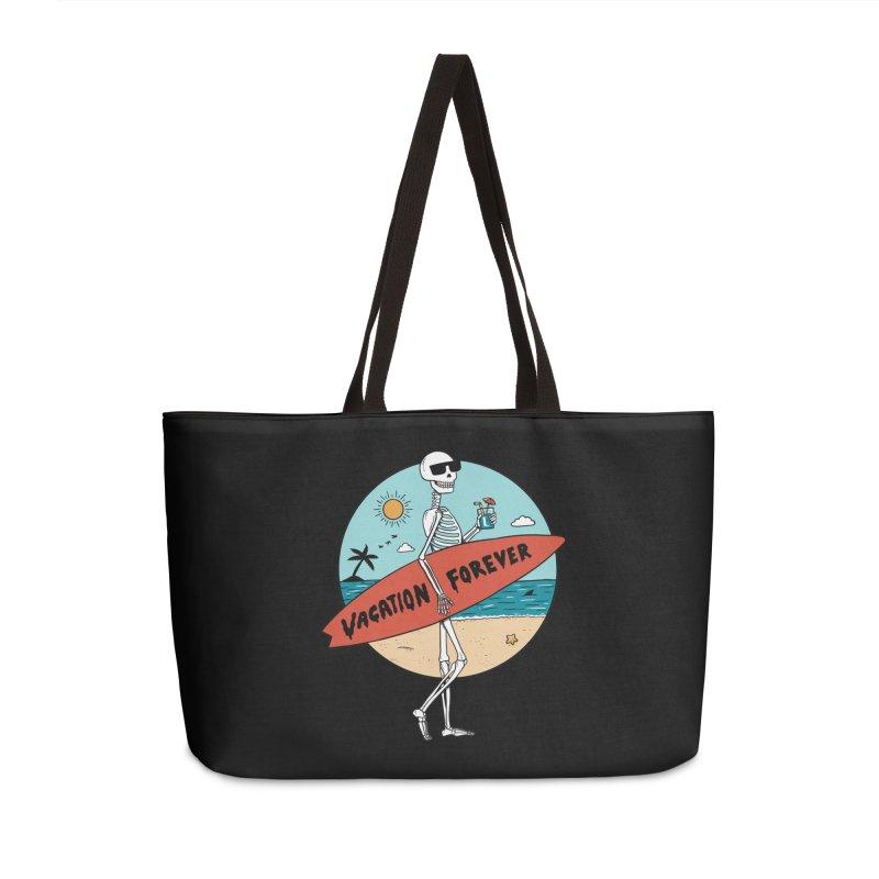 Skull Accessories Weekender Bag Bag by coffeeman's Artist Shop