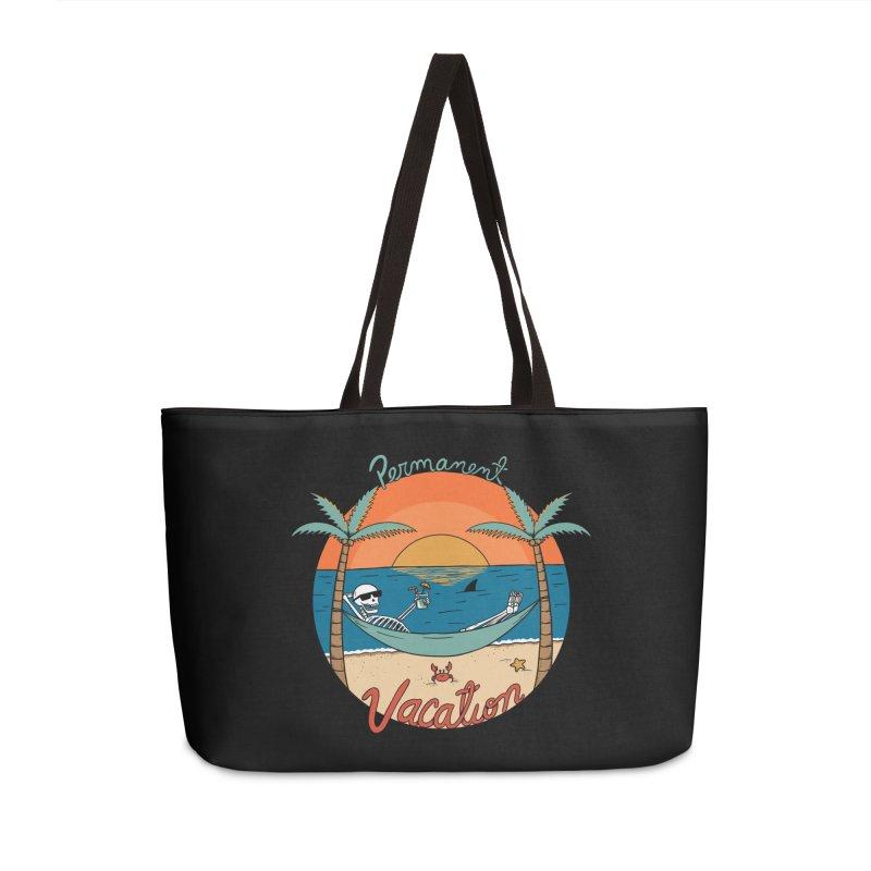 Skull permanent vacation Accessories Weekender Bag Bag by coffeeman's Artist Shop