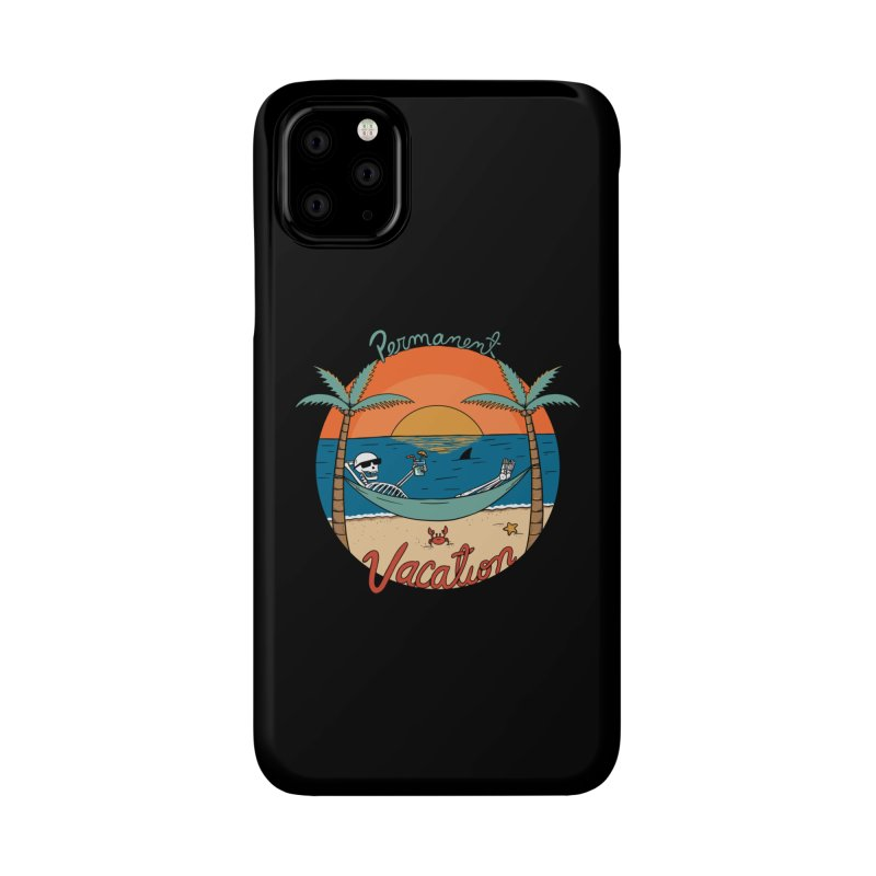 Skull permanent vacation Accessories Phone Case by coffeeman's Artist Shop