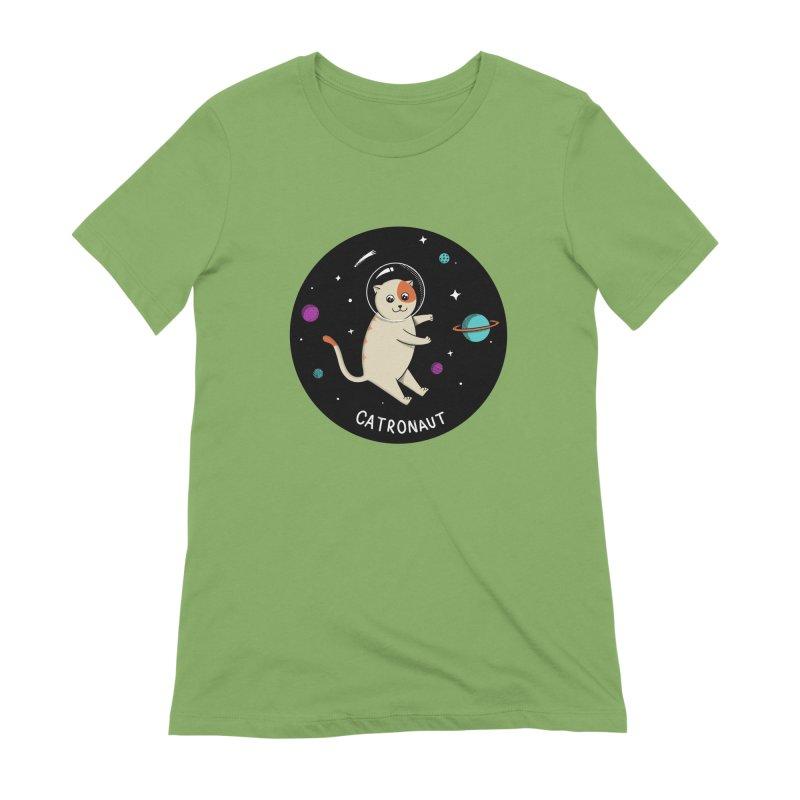 Cat Women's Extra Soft T-Shirt by coffeeman's Artist Shop
