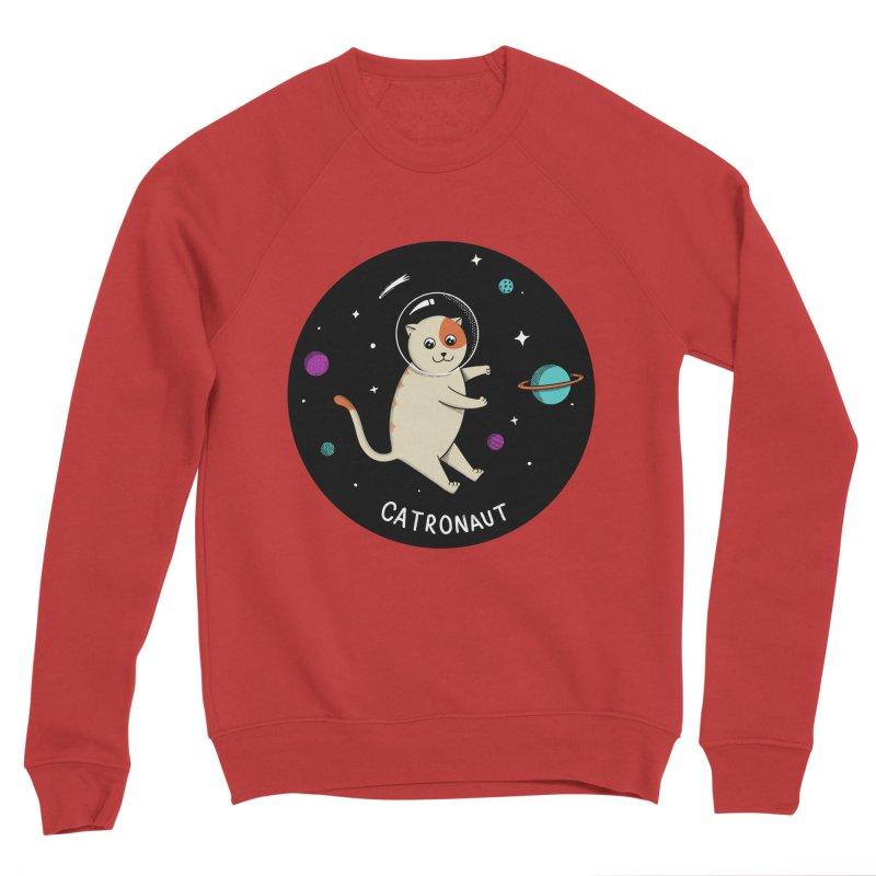Cat Women's Sponge Fleece Sweatshirt by coffeeman's Artist Shop