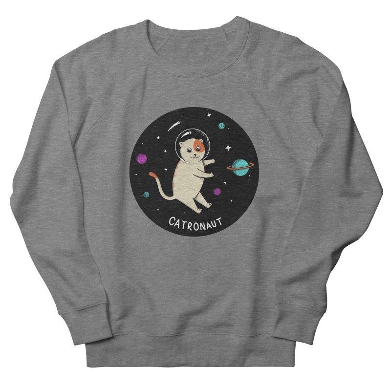 Cat Women's French Terry Sweatshirt by coffeeman's Artist Shop