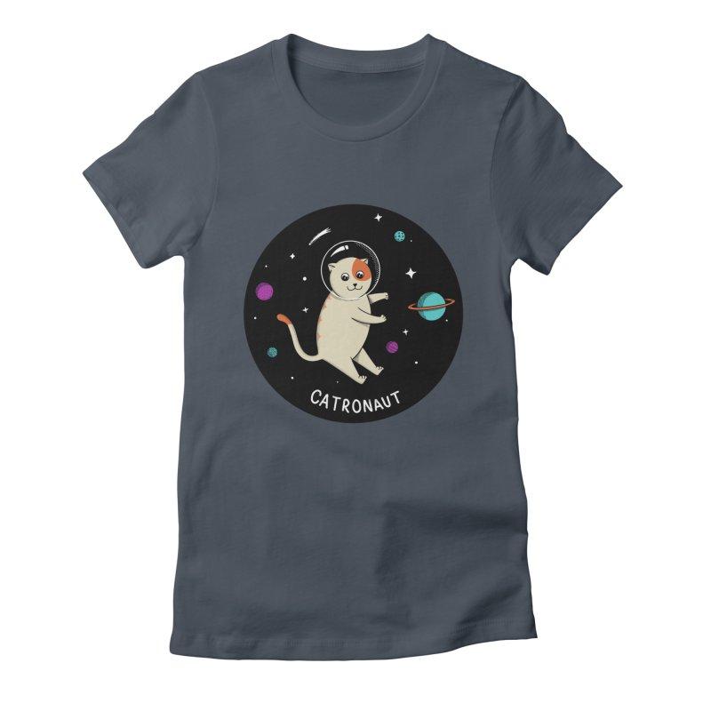 Cat Women's T-Shirt by coffeeman's Artist Shop