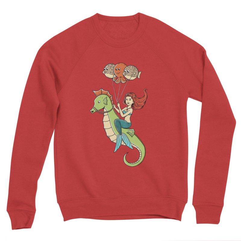 Mermaid Women's Sponge Fleece Sweatshirt by coffeeman's Artist Shop